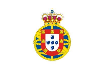 Bandera Reino Unido de Portugal, Brasil y Algarve 1815-1822