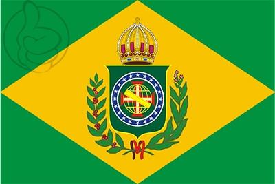 Bandera Imperio de Brasil