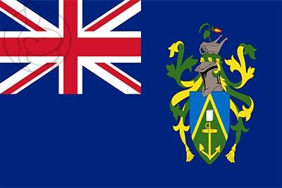 Bandera Islas Pitcairn