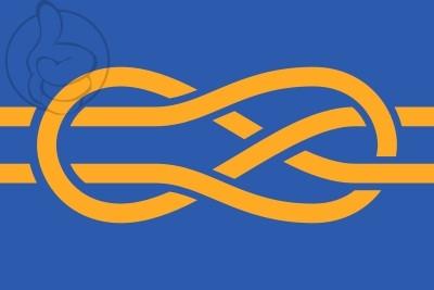 Bandera Federación Internacional de Asociaciones Vexilológicas