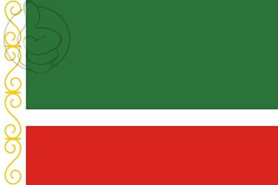 Bandera Chechenia