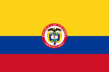 Resultado de imagen de bandera colombia