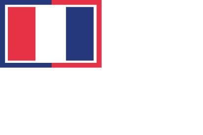 Bandera Francia Marítima