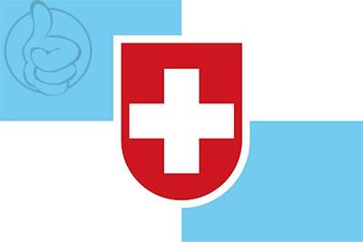 Bandera Nueva Helvecia