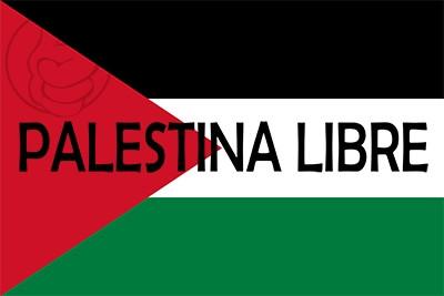 Bandera Palestina Libre