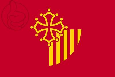 Bandera Languedoc-Rosellón