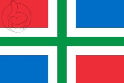 Bandera Groningen province