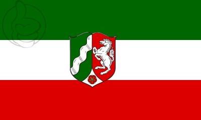 Bandera Nordrhein-Westfalen W/S