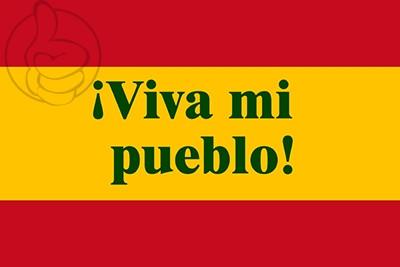 Bandera Viva mi pueblo