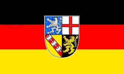 Bandera Saarland