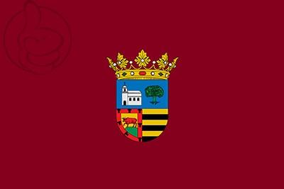 Bandera La Pobla del Duc