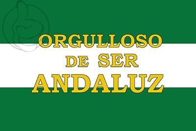 Bandera Orgulloso de ser andaluz