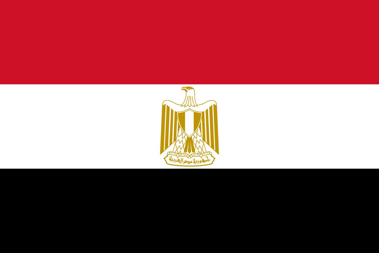Bandera Egito