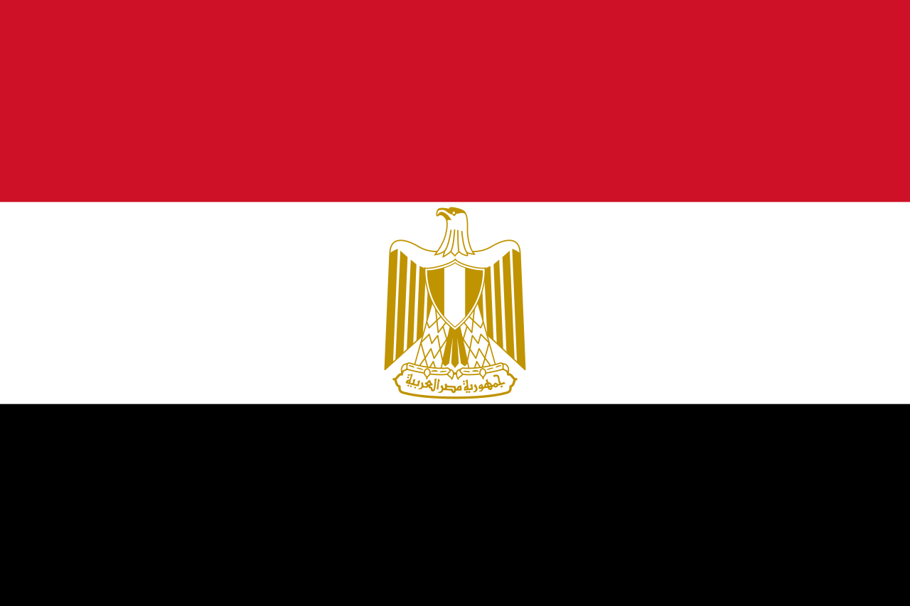 Bandera Egypt
