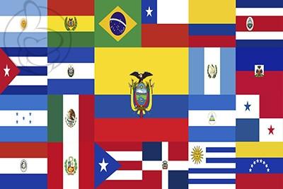 Bandera Multibandera Americana