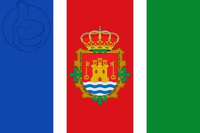 Bandera Valencia de Alcántara escudo