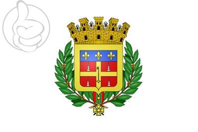 Bandera Blasón Le Mans (Sarthe)