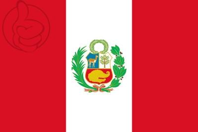 Bandera Perú bandiera nazionale
