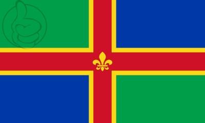 Bandera Lincolnshire