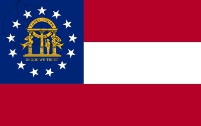 Bandera Georgia (Estados Unidos)