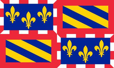 Bandera Bourgogne