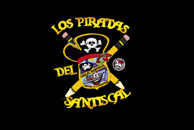 Bandera Piratas del Sandiscal