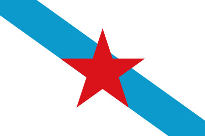 Bandera Galician nationalist