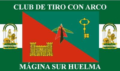Bandera Huelma Tiro Con Arco