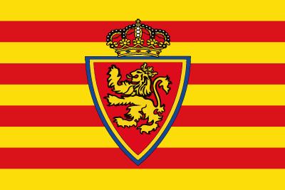 Bandera Real Zaragoza personalizada