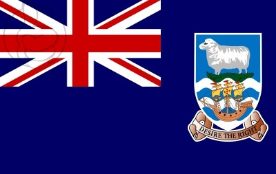 Bandera Falkland Islands