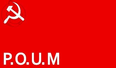Bandera Partido Obrero de Unificación Marxista
