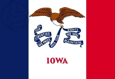 Bandera Iowa