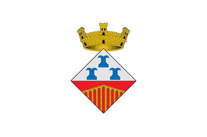Bandera Pont de Vilomara i Rocafort, El