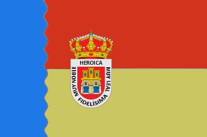 Bandera Villarcayo de Merindad de Castilla la Vieja