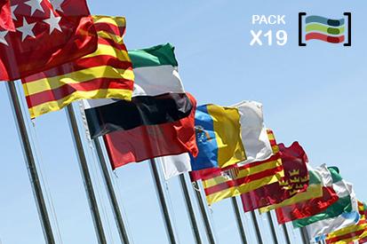 Bandera Pack 19 Comunidades Autónomas