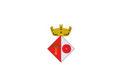 Bandera Sant Julià del Llor i Bonmatí