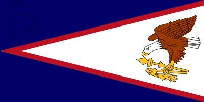 Drapeau Samoa Americana