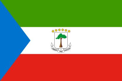 Drapeau Guinée équatoriale
