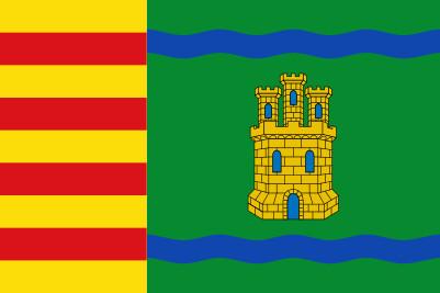 Bandera Alcolea de Cinca