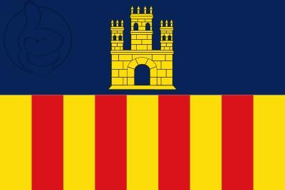 Bandera Villanueva y Geltrú (Vilanova i la Geltrú)