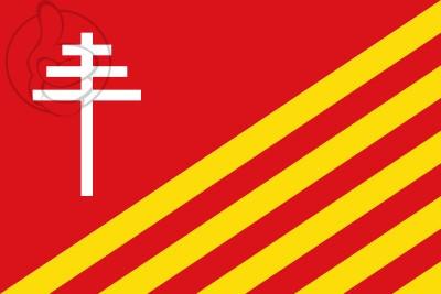 Bandera San Gregorio (Gerona)