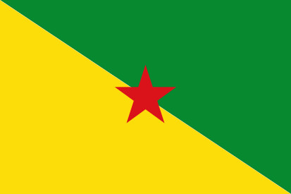 Bandera French Guiana