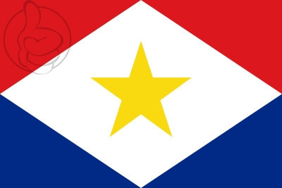 Bandera Isla de Saba