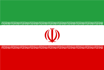 Bandera Irán