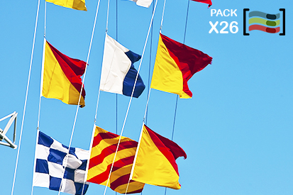 Bandera Nautical Flags International Code of Signals