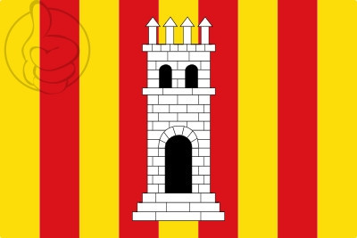 Drapeau Torroella de Montgrí