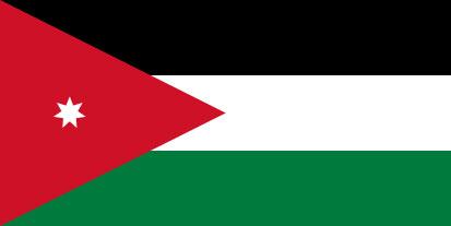 Bandera Jordanie