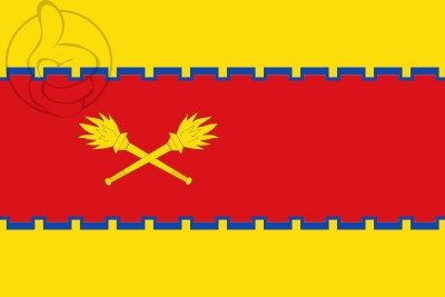 Bandera Cetina (Zaragoza)