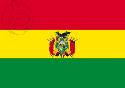 Drapeau Bolivie C/E