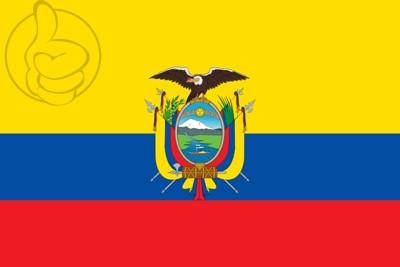 Bandera Equateur